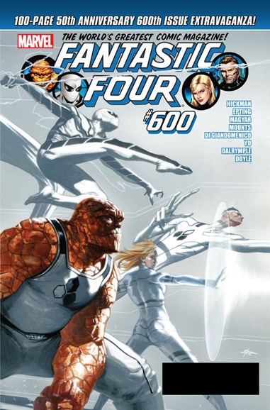Fantastic Four Cover - 1/1/2012