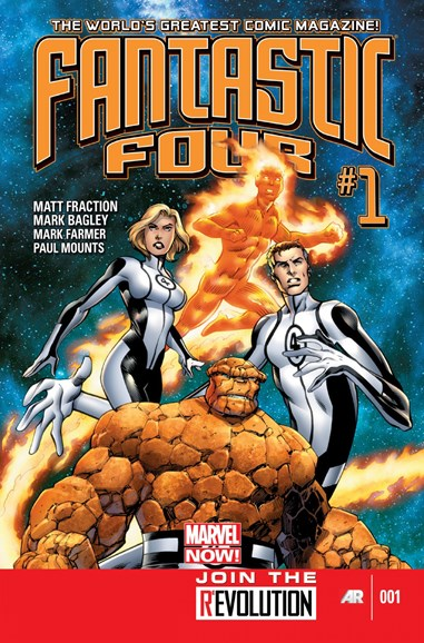 Fantastic Four Cover - 1/1/2013