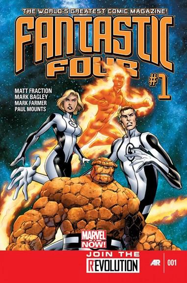 Fantastic Four Cover - 1/1/2013