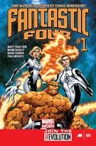 Fantastic Four Comic 1/1/2013