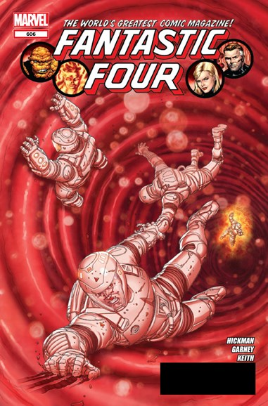 Fantastic Four Cover - 7/1/2012