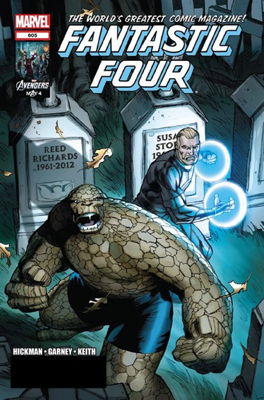 Fantastic Four Cover - 6/1/2012
