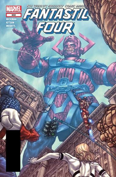 Fantastic Four Cover - 3/1/2012