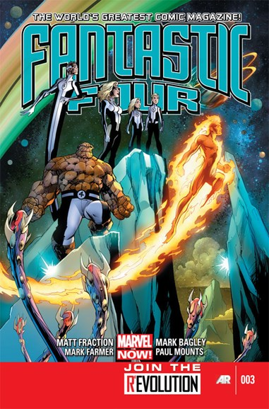 Fantastic Four Cover - 3/1/2013