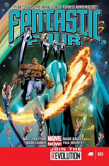Fantastic Four Cover - 3/1/2013