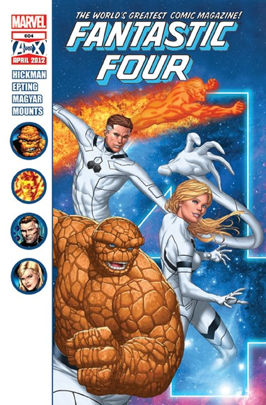 Fantastic Four Cover - 5/1/2012