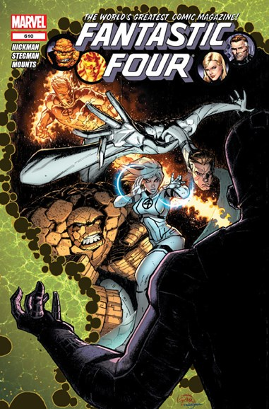Fantastic Four Cover - 11/1/2012