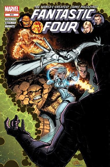 Fantastic Four Cover - 11/1/2012
