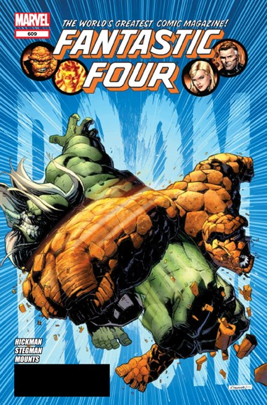 Fantastic Four Cover - 10/1/2012