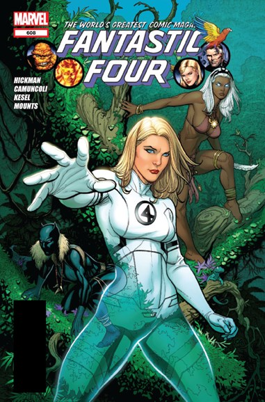 Fantastic Four Cover - 9/1/2012