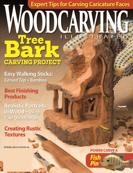 Wood Carving Illustrated Cover - 3/1/2013