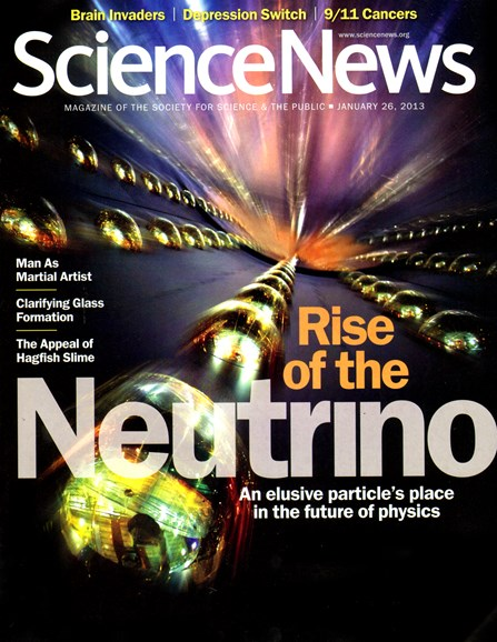 Science News Cover - 1/26/2013