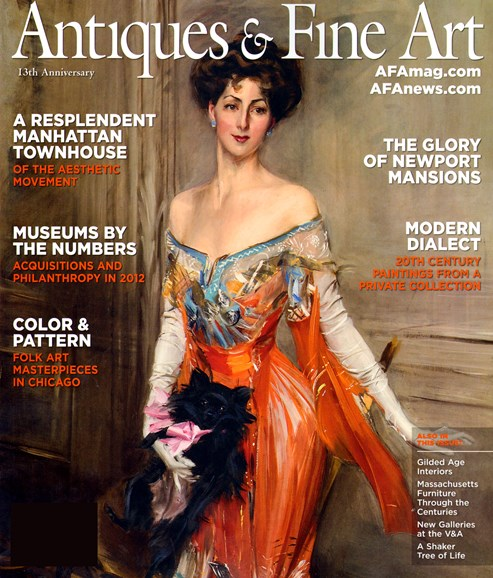 Antiques & Fine Art Cover - 1/1/2013