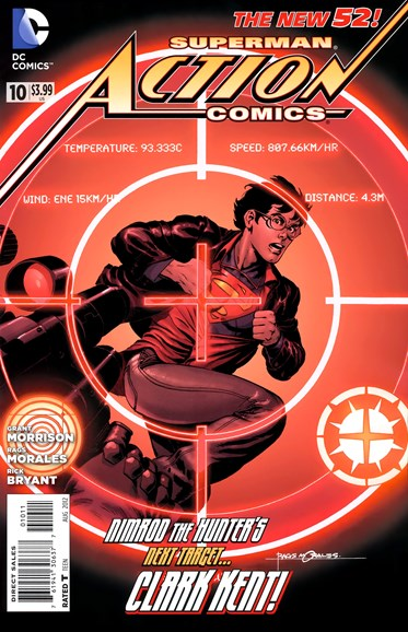 Action Comics Cover - 8/1/2012