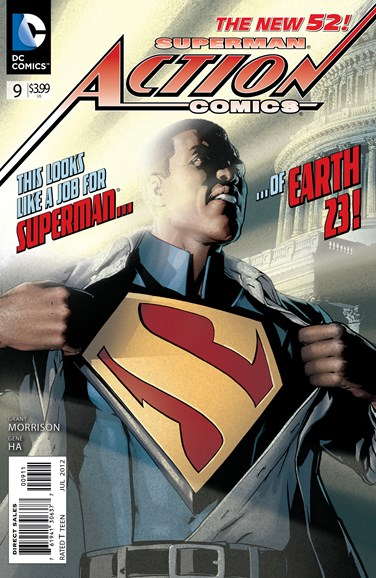 Action Comics Cover - 7/1/2012