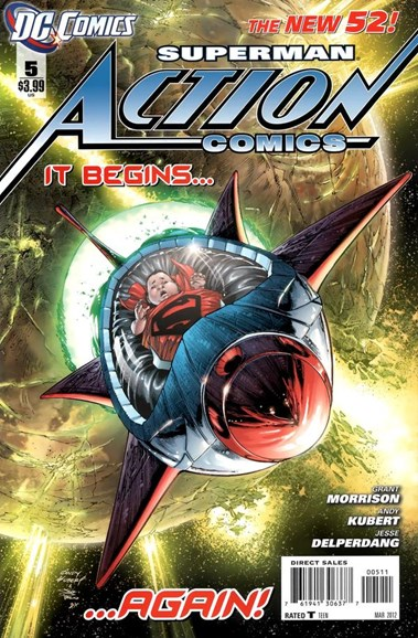 Action Comics Cover - 3/1/2012