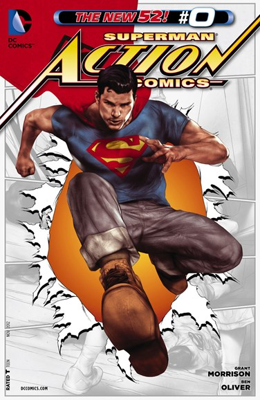 Action Comics Cover - 11/1/2012