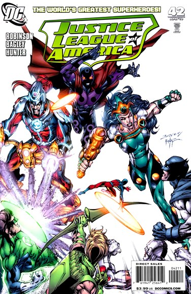 Justice League of America Cover - 4/1/2010