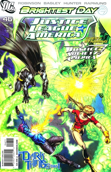 Justice League of America Cover - 8/1/2010