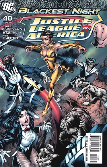 Justice League of America Cover - 2/1/2010