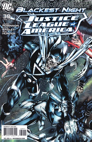Justice League of America Cover - 1/1/2010