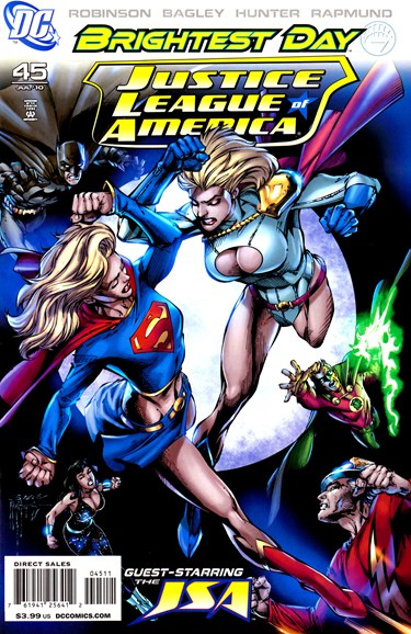 Justice League of America Cover - 7/1/2010