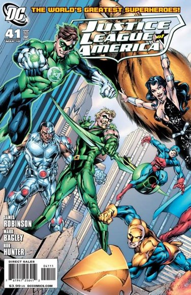 Justice League of America Cover - 3/1/2010
