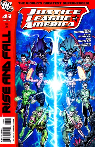 Justice League of America Cover - 5/1/2010