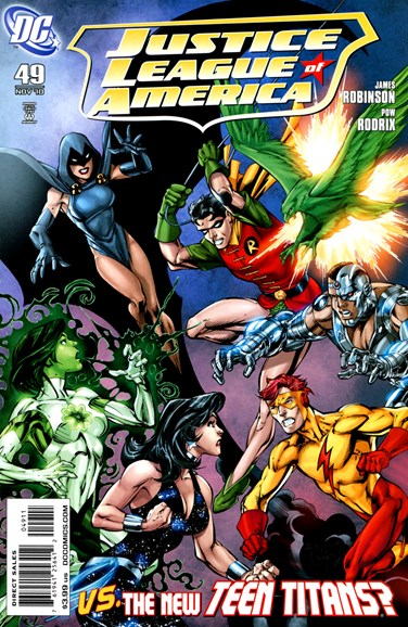 Justice League of America Cover - 11/1/2010