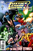Justice League of America Comic 11/1/2010