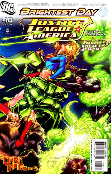 Justice League of America Cover - 10/1/2010