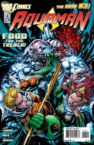 Aquaman Cover - 2/1/2012