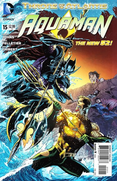 Aquaman Cover - 2/1/2013