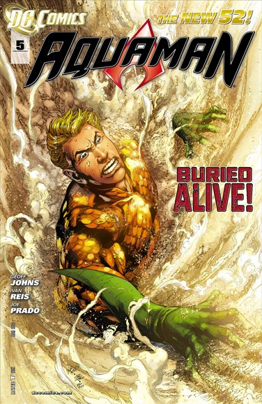 Aquaman Cover - 3/1/2012