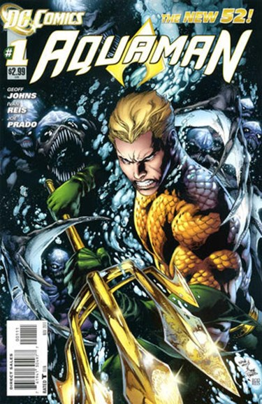 Aquaman Cover - 11/1/2011