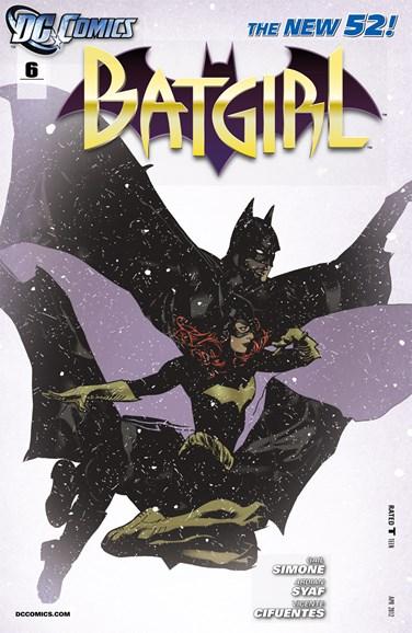 Batgirl Cover - 4/1/2012