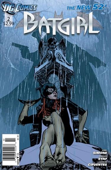 Batgirl Cover - 12/1/2011
