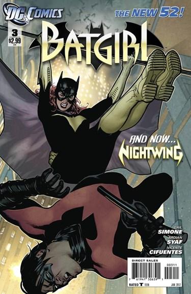 Batgirl Cover - 1/1/2012