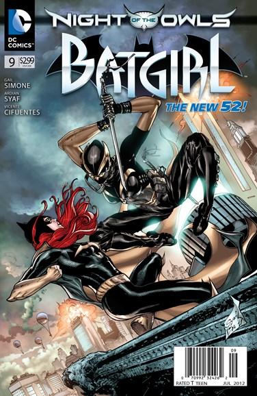 Batgirl Cover - 7/1/2012