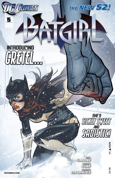 Batgirl Cover - 3/1/2012