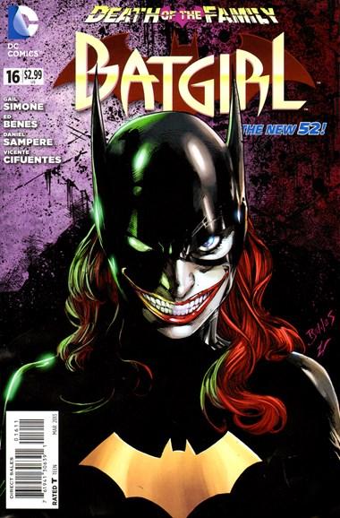 Batgirl Cover - 3/1/2013