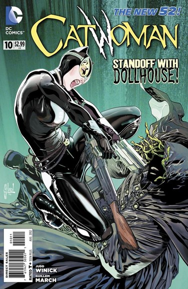 Catwoman Cover - 8/1/2012