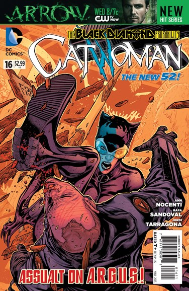 Catwoman Cover - 3/1/2013