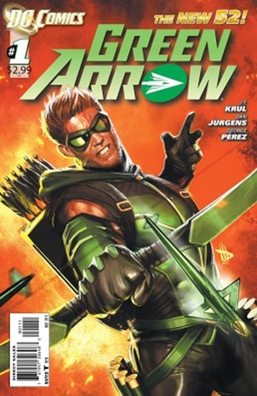 Green Arrow Cover - 11/1/2011