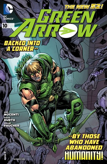Green Arrow Cover - 8/1/2012