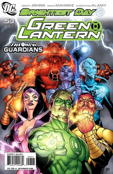 Green Lanterns Cover - 6/1/2010