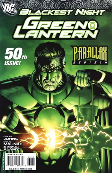 Green Lanterns Cover - 3/1/2010