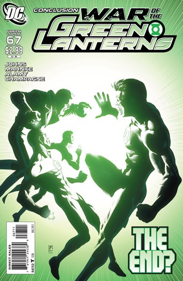 Green Lanterns Cover - 8/1/2011