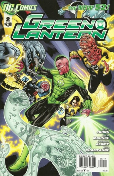 Green Lanterns Cover - 12/1/2011