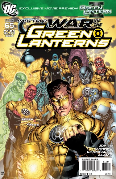 Green Lanterns Cover - 6/1/2011